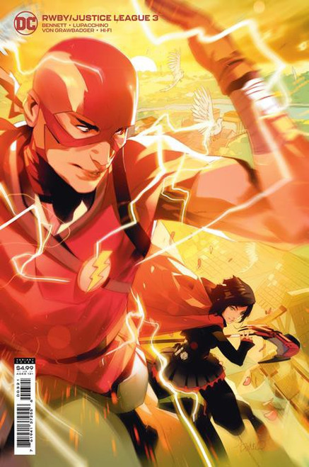 DC RWBY Justice League #3 Comic Book [Card Stock Variant] (Pre-Order ships June)