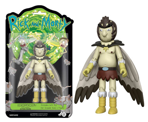 Funko Rick & Morty Bird Person Action Figure [Build Snowball Part, Damaged Package]