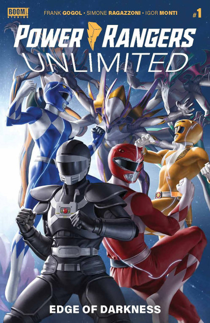 Boom Studios Power Rangers Unlimited Edge of Darkness Comic Book [Cover B Yoon] (Pre-Order ships June)