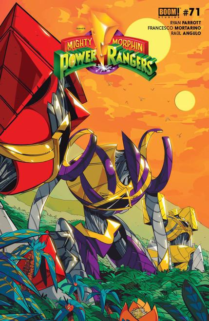 Boom Studios Power Rangers #8 Comic Book [Cover B Di Nicuolo Legacy Variant]