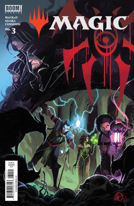 Boom! Studios Magic: the Gathering #3 Comic Book [Cover A Scalera] (Pre-Order ships June)