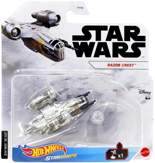 Hot Wheels Star Wars Starships Razor Crest Diecast Vehicle