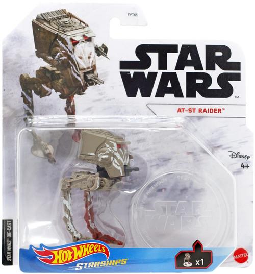Hot Wheels Star Wars Starships AT-ST Raider Diecast Vehicle
