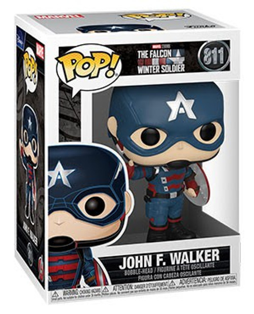 Funko The Falcon and the Winter Soldier POP! Marvel John F Walker Vinyl Bobble Head #811 (Pre-Order ships October)