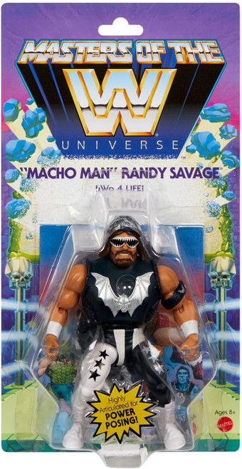 """WWE Wrestling Masters of the WWE Universe """"Macho Man"""" Randy Savage Exclusive Action Figure"""