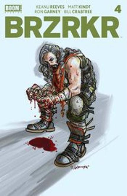 Boom! Studios Brzrkr #4 Comic Book [Cover C Grampa Foil]