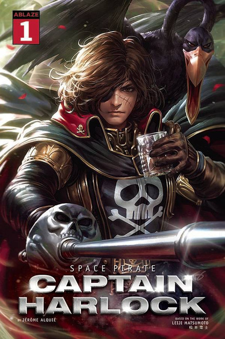 Ablaze Space Pirate Captain Harlock #1 Comic Book [Cover A Derrick Chew] (Pre-Order ships June)