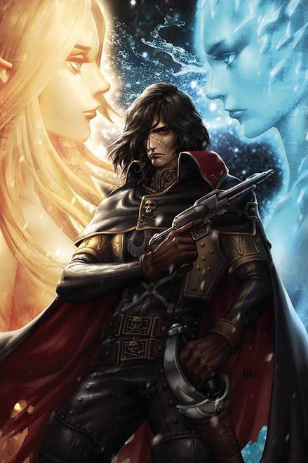 Ablaze Space Pirate Captain Harlock #1 Comic Book [Cover B Kendrick Lim] (Pre-Order ships June)