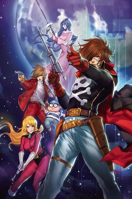Ablaze Space Pirate Captain Harlock #1 Comic Book [Cover C Leirix Li] (Pre-Order ships June)