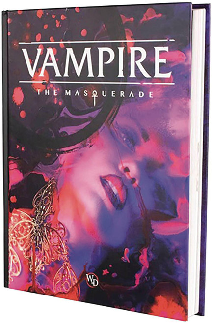 Vampire: The Masquerade Core Rulebook Hardcover Roleplaying Core Rulebook (Pre-Order ships July)