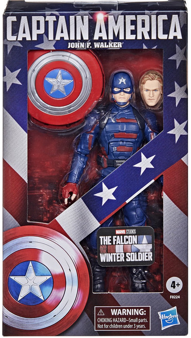 The Falcon and the Winter Soldier Marvel Legends Captain America (John F. Walker) Exclusive Action Figure (Pre-Order ships August)