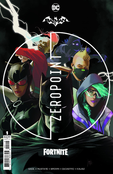 DC Comics Batman / Fortnite Zero Point #1 RECOLORED (2nd Printing) Comic Book [Comes with Online Game Digital Item Code to Unlock Rebirth Harley Quinn Outfit!] (Pre-Order ships May)