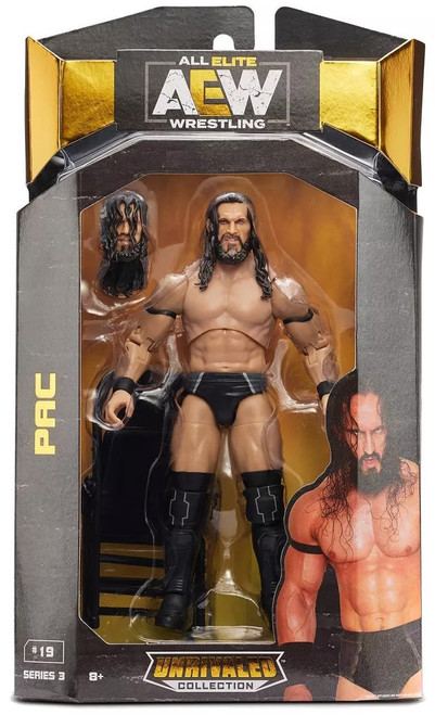AEW All Elite Wrestling Unrivaled Collection PAC Action Figure