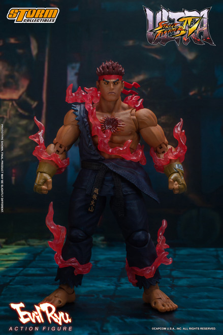 Street Fighter IV Evil Ryu Action Figure (Pre-Order ships May)