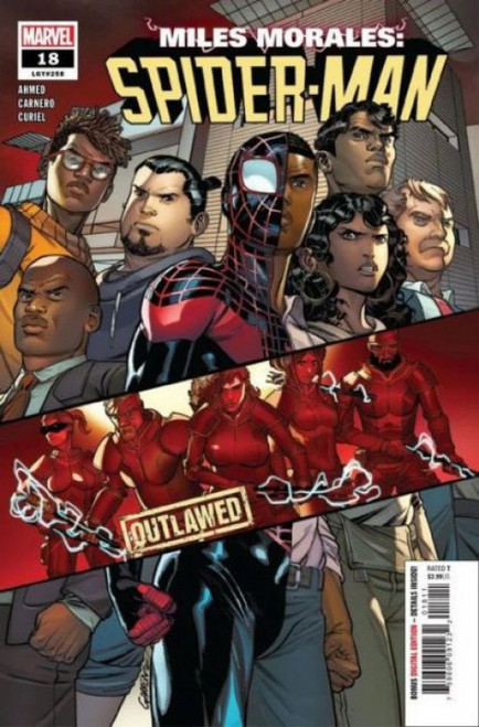 Marvel Miles Morales: Spider-Man #18A Comic Book