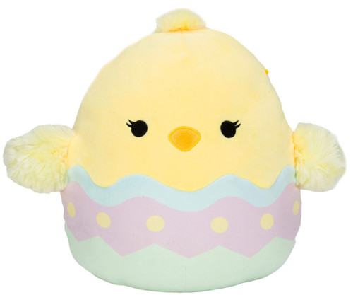 Squishmallows Easter Aimee the Chick 12-Inch Plush [in Egg]