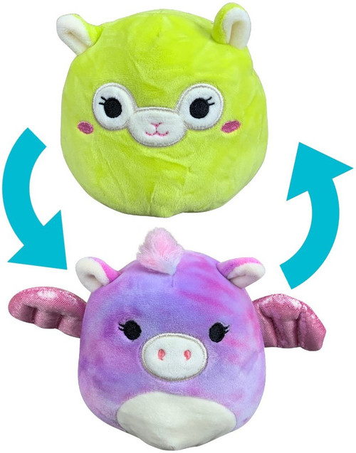 Squishmallows Flip-a-Mallows Willow & Kimberly 5-Inch Plush