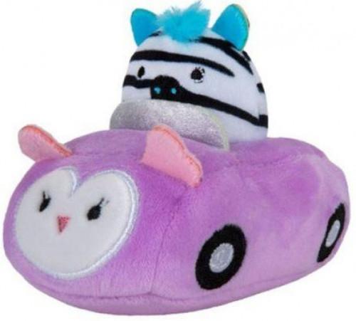 Squishmallows Squishville! Zebra & Vehicle 2-Inch Mini Plush