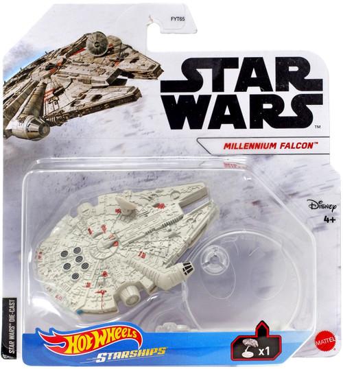 Hot Wheels Star Wars Starships Millennium Falcon Diecast Vehicle [Starships]