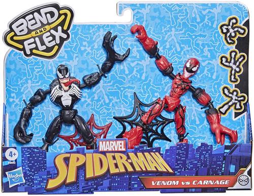Marvel Spider-Man Bend & Flex Venom vs Carnage Action Figure (Pre-Order ships June)
