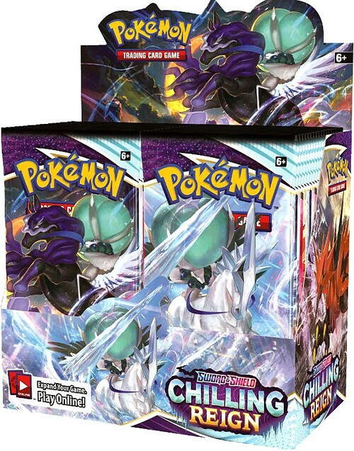 Pokemon Trading Card Game Sword & Shield Chilling Reign Booster Box [36 Packs] (Pre-Order ships August)