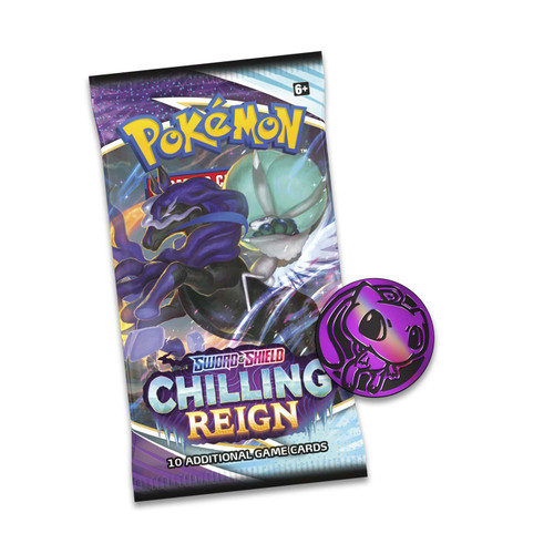 Pokemon Trading Card Game Sword & Shield Chilling Reign Eevee Special Edition [3 Booster Packs, Promo Card & Coin]