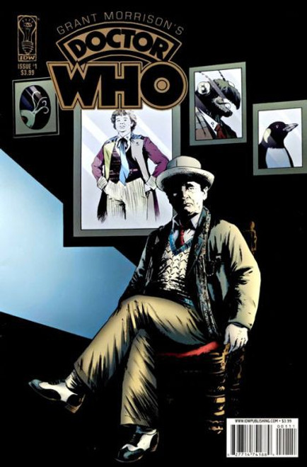 IDW Publishing Grant Morrison's Doctor Who #1A Comic Book