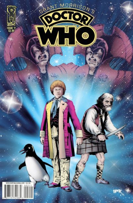 IDW Publishing Grant Morrison's Doctor Who #2A Comic Book