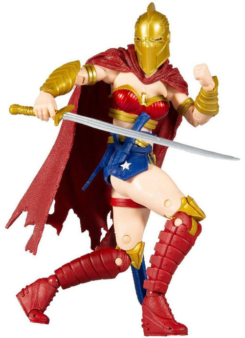 McFarlane Toys DC Multiverse Wonder Woman Exclusive Action Figure [Last Knight on Earth, with Helmet of Fate]
