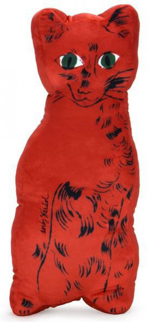 Andy Warhol Cat 18-Inch Plush [Red] (Pre-Order ships November)