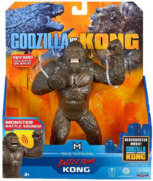 Godzilla vs Kong Monsterverse Battle Roar Kong Deluxe Action Figure [with Sounds]