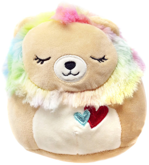 Squishmallows Leonard the Lion 5-Inch Plush [with Hearts]