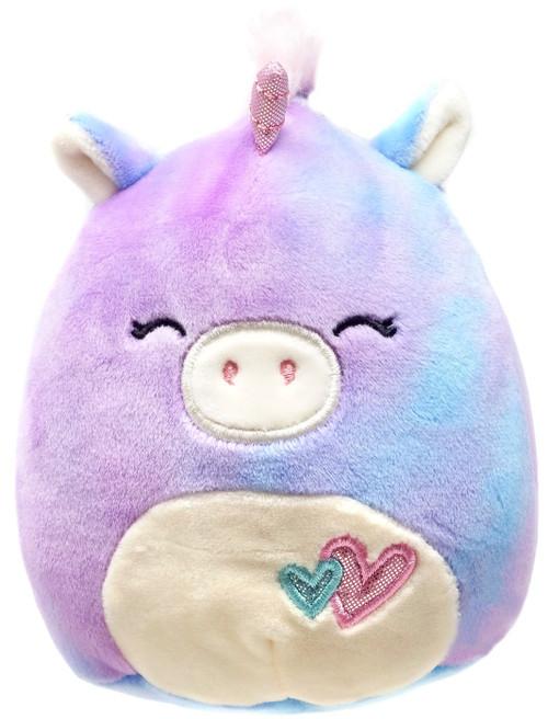 Squishmallows Aurora the Unicorn 5-Inch Plush [with Hearts]