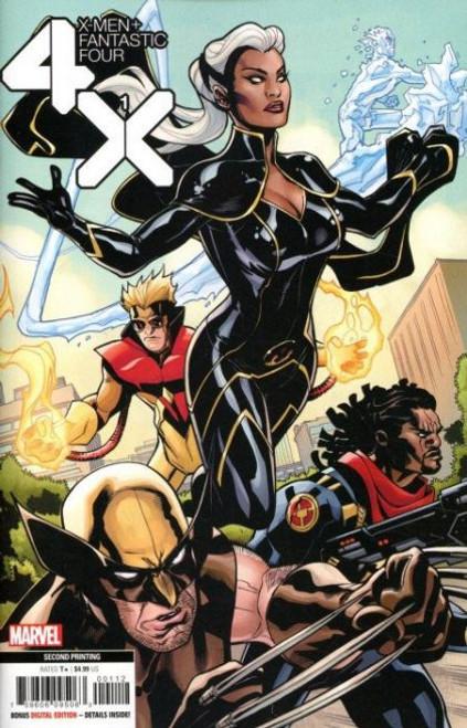 Marvel X-Men / Fantastic Four, Vol. 2 #1 Comic Book [2nd Printing Variant]