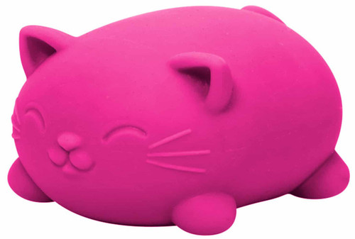 NeeDoh The Groovy Glob Cool Cats PINK 2.5-Inch Small Stress Ball