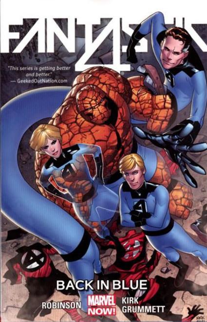 Marvel Fantastic Four Back in Blue Trade Paperback #3
