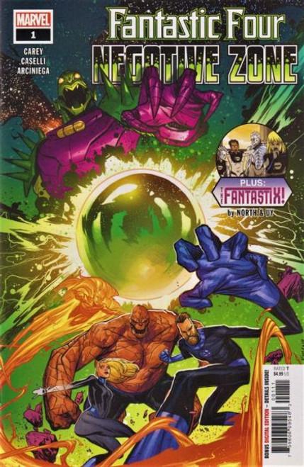 Marvel Fantastic Four: Negative Zone #1A Comic Book