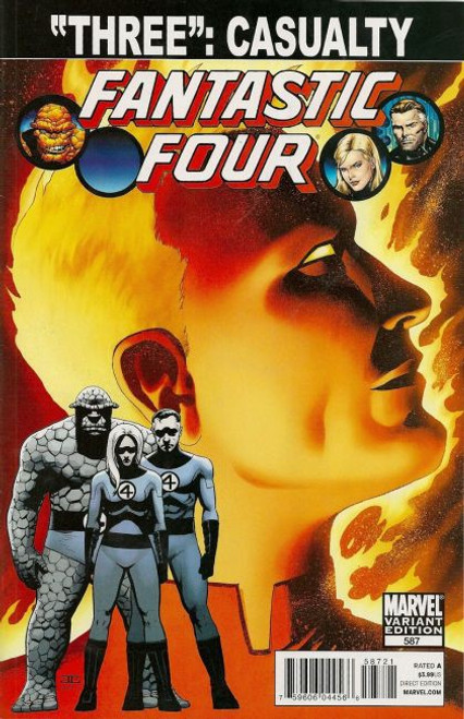 Marvel Fantastic Four, Vol. 3 #587 Comic Book [Cassaday Spoiler Variant]
