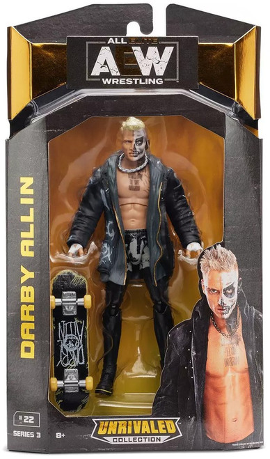 AEW All Elite Wrestling Unrivaled Collection Series 3 Darby Allin Action Figure