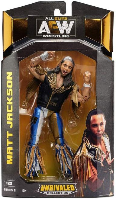 AEW All Elite Wrestling Unrivaled Collection Series 3 Matt Jackson Action Figure [Young Bucks]