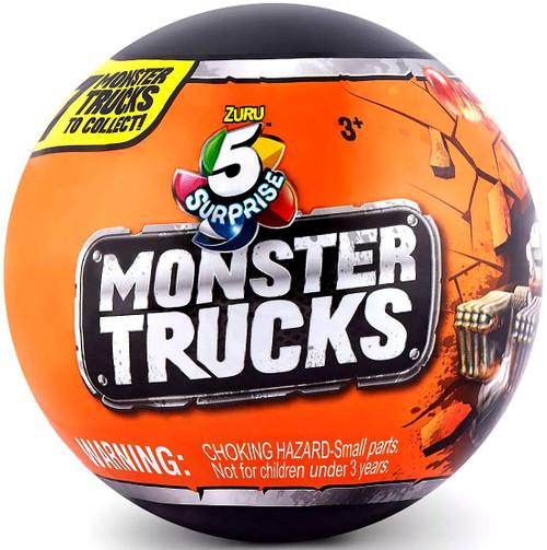 5 Surprise Monster Trucks Mystery Pack