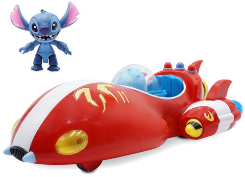 Disney Lilo & Stitch Toybox Stitch Rocket Ship Exclusive Vehicle & Action Figure Playset