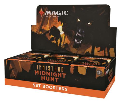 MtG Trading Card Game Innistrad: Midnight Hunt SET Booster Box [30 Packs] (Pre-Order ships September)