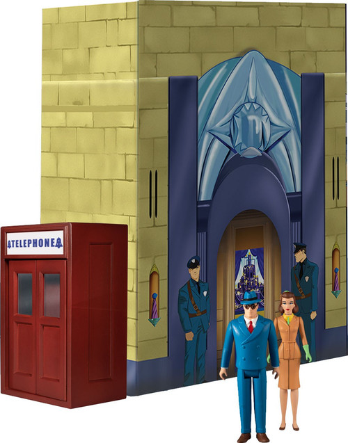 DC 5 Points The Mechanical Monsters (1941) Deluxe Action Figure Boxed Set [Superman, Clark Kent, Lois Lane & Robot 5] (Pre-Order ships November)