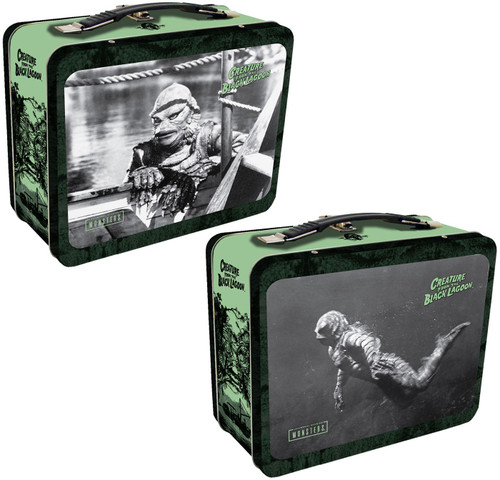 Universal Monsters Creature from the Black Lagoon Tin Tote Lunch Box