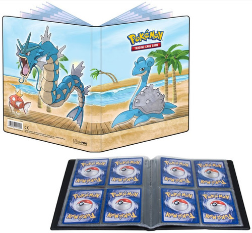 Ultra Pro Pokemon Trading Card Game Seaside 4-Pocket Portfolio (Pre-Order ships July)