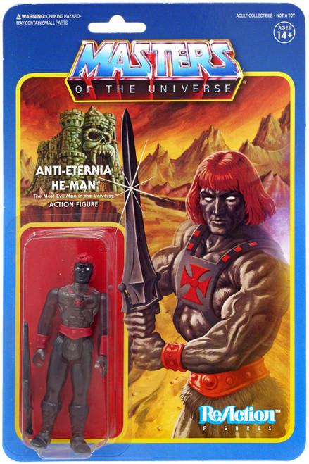 ReAction Masters of the Universe Anti-Eternia He-Man Action Figure