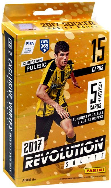 MLS Panini 2017 Revolution Soccer Trading Card HANGER Box [15 Cards]