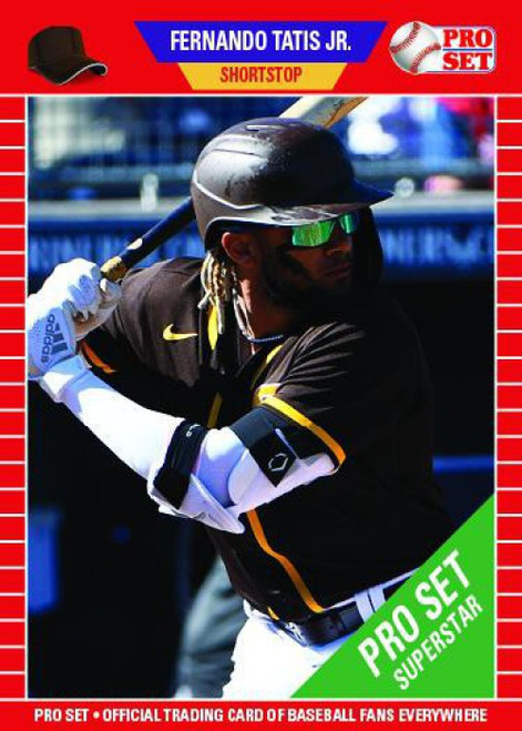 MLB 2021 Pro Set Baseball Fernando Tatis Jr. Trading Card PS13