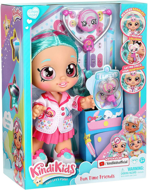 Kindi Kids Fun Time Friends Cindy Pops Doll